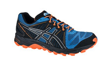 Asics Men's Gel Fujitrabuco 2 blue/black/neon orange